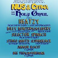Cypha Soundsystem & N.U.S Present: The Holy Grail