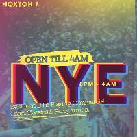 open late nye party at hoxton seven