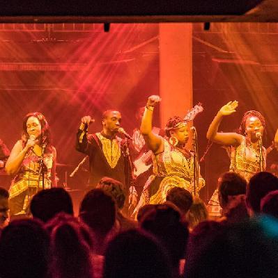 The London African Gospel Choir performs Paul Simon's Graceland