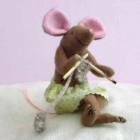 Felt Mice Workshop: Pencil Toppers