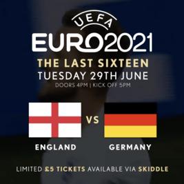 Euros: The Last 16: England vs ???