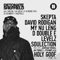 Detonate Sheffield presents Skepta - Halloween
