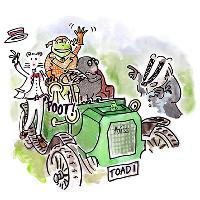 Sixteenfeet Productions presents Wind in the Willows to Sexby Garden, Peckham Rye Park