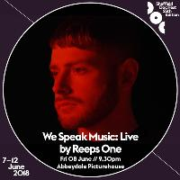 We Speak Music: Live, by Reeps One