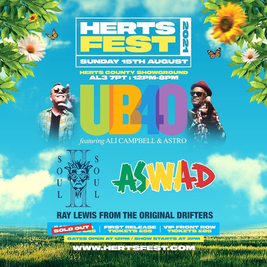 Herts Fest with UB40 / SOUL II SOUL + MORE