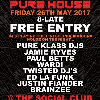 Pure Klass & Show Pony Productions - Present -Pure House
