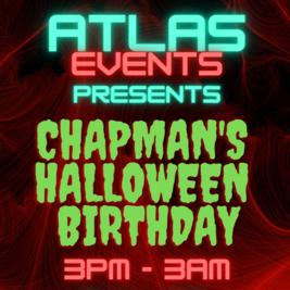 Atlas Events Presents: Chapman