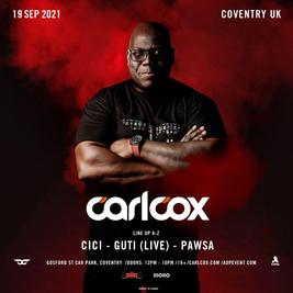 Carl Cox - Coventry