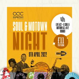 Motown & Soul Party Night