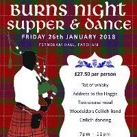 Burns Night Supper & Dance