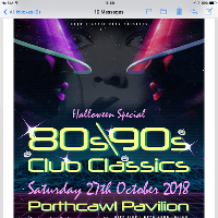 80s and 90s club classic Halloween special