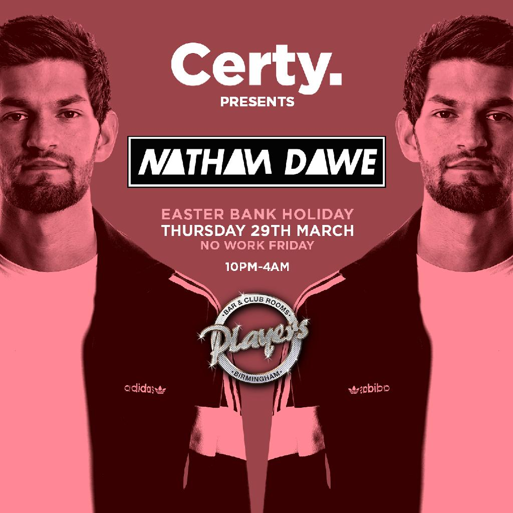 Certy presents Nathan Dawe