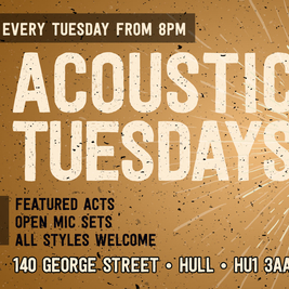 Acoustic Tuesday at Service Station - Open Mic special