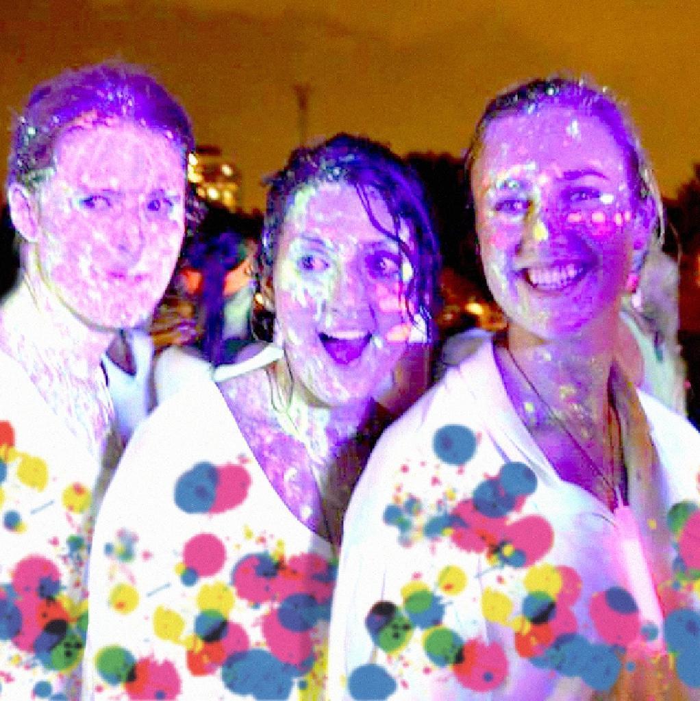 Glow Neon Fun Run Rnib Glow Neon 3k Fun Run