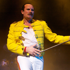 Freddie Mercury Live Tribute by Joseph Lee Jackson