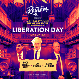 Rhythm Presents - Liberation Day