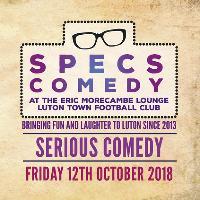 Specs Comedy - October 2018