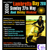 Isle of Wight Lambretta Day 2018