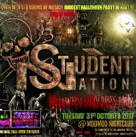 Student Nation. Biggest Halloween Party in Kent