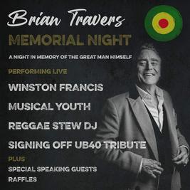 Brian Travers Memorial Night