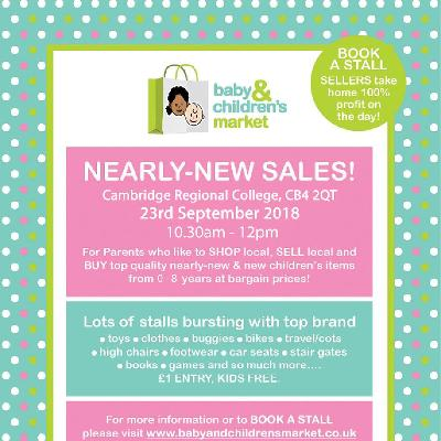 Baby & Childrens Market Nearly New Sale Tickets | Cambridge