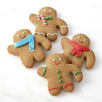 Gingerbread man hunt!