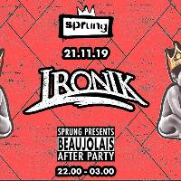 Sprung Launch with Dj Ironik DJ se and Live PA