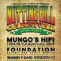 Notting Hill Carnival - After Party