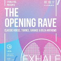 Exhale Newcastle The Opening Rave