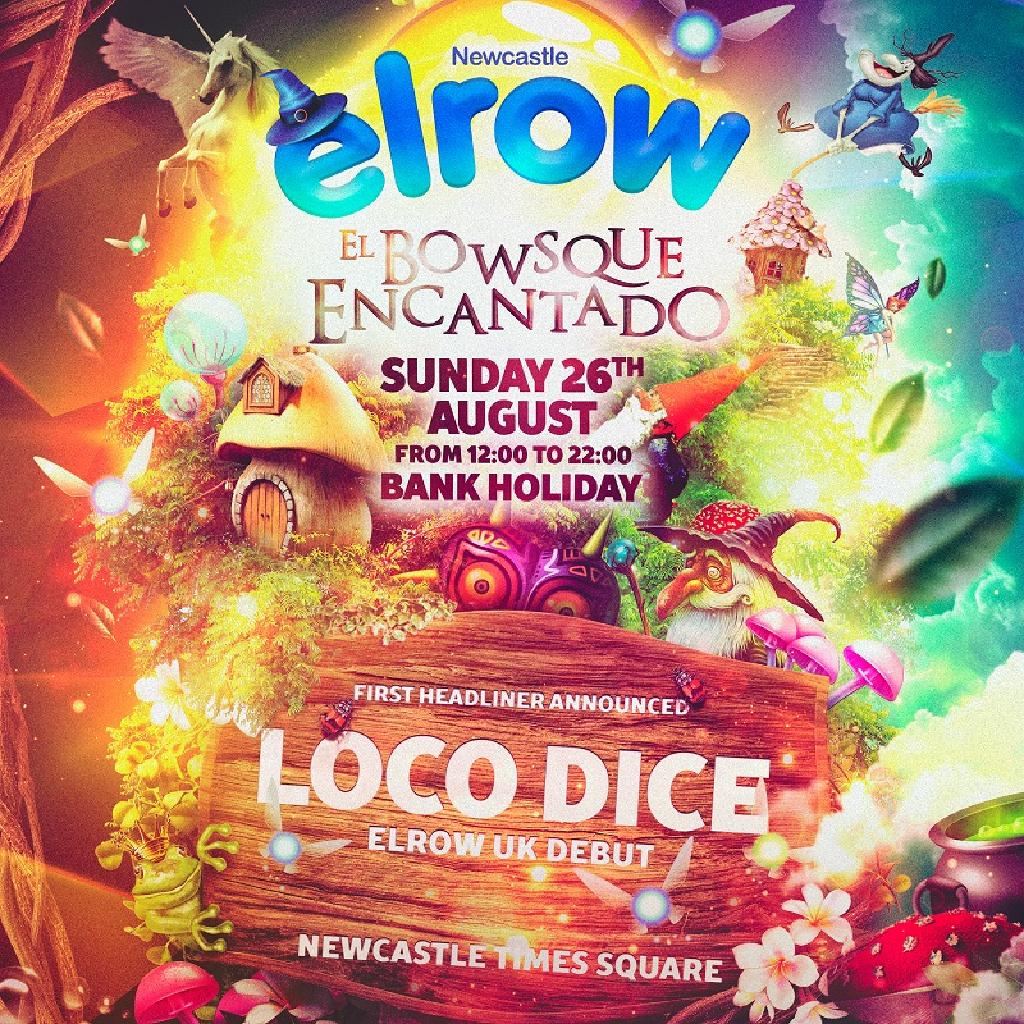 elrow Newcastle - El Bowsque Encantado - Outdoors