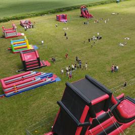 Mega Bounce Play Park