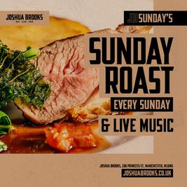 Sunday Roast at Joshua Brooks
