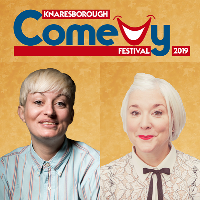 Harriet Dyer and Lou Conran .. Knaresborough Comedy Festival