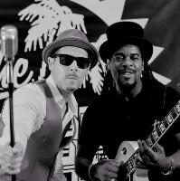 Tyber and Peter from The Dualers NYE Party