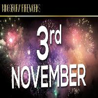 Kingsbury Fireworks Display, Saturday 3rd November 2018