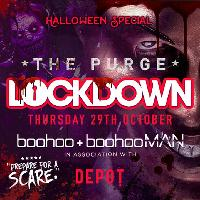 LOCKDOWN presents THE PURGE - Halloween Special @ THE DEPOT CARD