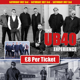 The UB40 experience and the Messiahs