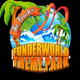 The Beach at Funderworld Theme Park