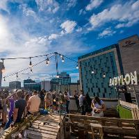 Babylon Rooftop ∆ Cardiff - Pre Bank Holiday Vibes
