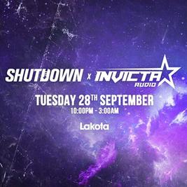 Shutdown x Invicta Audio: Sub Zero b2b Kelvin 373, Trafic MC, So