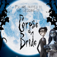 Corpse Bride Halloween Party