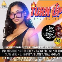 turn up thursdays hosted by stylo g