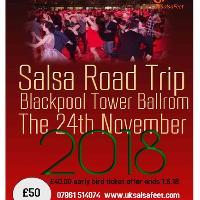 Road Trip to Blackpool Tower Ballroom salsa Night