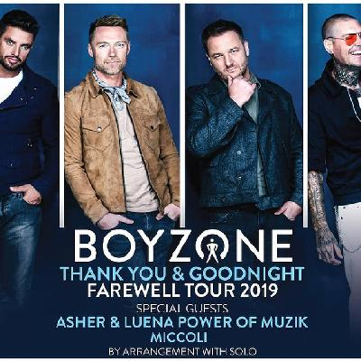 Boyzone - Thank You & Goodnight The Farewell Tour