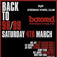Back To 98/99 Handbag House & Speed Garage at BOXXED