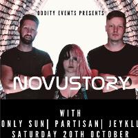 Oddity Events presents Novustory