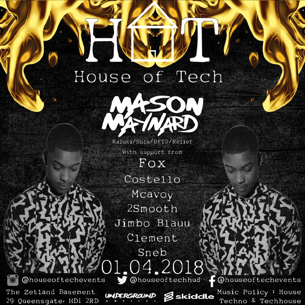 House of Tech Bank Holiday Special with Mason Maynard