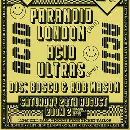 Lets Go Back to Acid - Paranoid London (live)