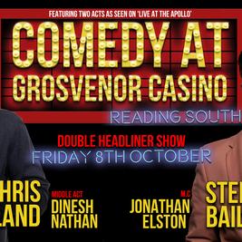 Comedy at Grosvenor Casino Reading South October