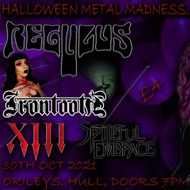 Halloween metal madness (richs 40th bday)